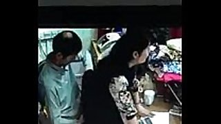 Desi salesgirl drilled at shop cctv footage
