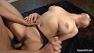 Busty asian group-fucked
