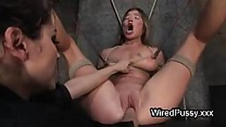 Bound wired honey love tunnel fist drilled