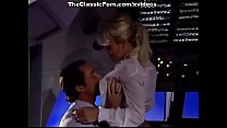 Porn fuck movie scene with pilot in his specific cabin