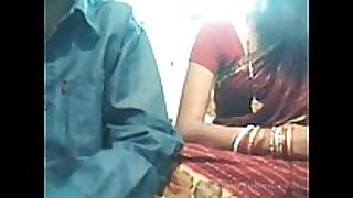 Indian young pair on web web camera
