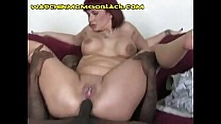 Interracial anal and facial