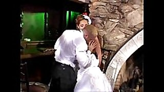 Sexy bride hot anal sex
